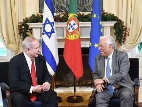 Состоялась встреча Биньямина Нетаниягу с премьер-министром Португалии Антониу Коштой
