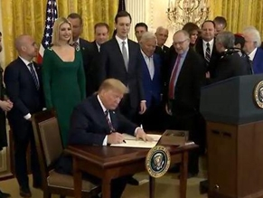 Трамп подписал указ о борьбе с антисемитизмом