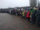 В Дробицком Яру состоялась Церемония памяти жертв Холокоста