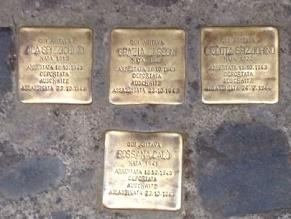 В Риме устанавливают 34 новых мемориала жертвам Холокоста