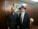 Qatar's Ambassador Visits Russian Chief Rabbi