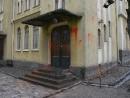 В Финляндии осквернили синагогу и сожгли израильский флаг