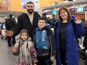 Ukrainian 'Olim' Land in Israel on International Holocaust Remembrance Day