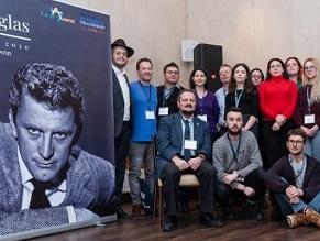 Belarus Jews hold memorial for its famous descendant, Kirk Douglas