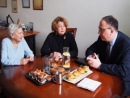 Еврейскую общину Литвы посетил посол США Р. С. Гилкрист
