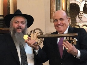Ukraine: Rudy Giuliani, the rabbi and Trump's impeachment