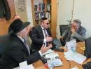 Раввин Асман встретился с сотрудниками Яд Вашем по вопросу Шептицкого