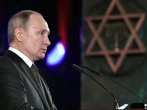 Кремлевские войны памяти, Холокост и короновирус