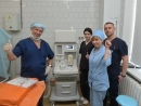 Boris Lozhkin has given over a high-end anesthesia ventilator to the Kyiv hospital