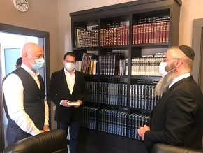 Odessa's Medal of Honor Awarded to City's Chief Rabbi