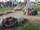 Траурная церемония, приуроченная к 19-й годовщине теракта около «Дольфи»