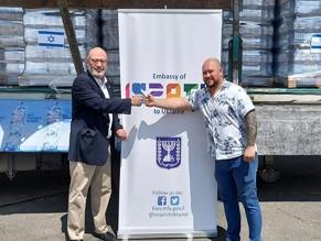 Посольство Израиля в Украине оказало помощь жителям районов, пострадавших от затопления