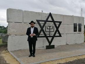 В Киевской области открыли памятник жертвам еврейских погромов
