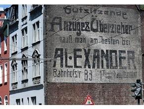 В Германии обнаружили 110-летний мурал с еврейской рекламой