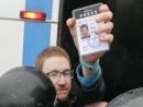 Полицейские в Петербурге напали на журналиста «Медиазоны» Давида Френкеля