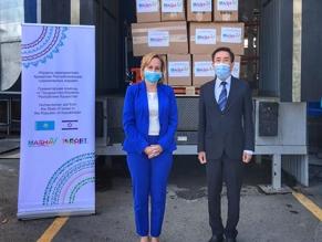 Посольство Израиля передало Казахстану гуманитарную помощь