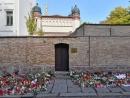 Дверь, остановившая убийцу, рвавшегося в синагогу в Галле снята, и станет частью мемориала