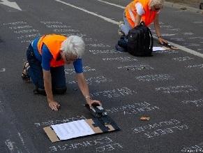 Имена на асфальте: необычный проект в память о жертвах Холокоста