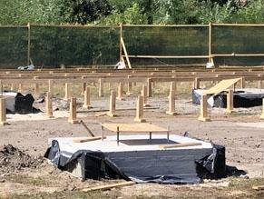 На бывшем кладбище в районе Бабьего Яра началось строительство