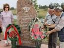 В белорусском Дубровно открыт обновленный памятный знак на месте расстрела евреев