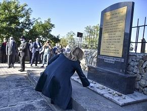 Президент Словакии почтила память жертв Холокоста