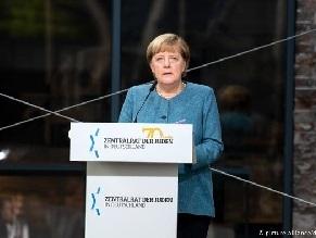 Меркель поздравила Центральный совет евреев в Германии с юбилеем