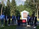 Память 12 тысяч евреев почтили в Укмерге