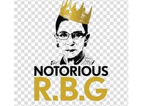 RIP, notorious RBG!