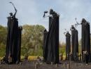 Памятники над Бабьим Яром
