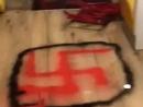Неизвестные разгромили кошерный ресторан в Париже, оставив на стенах антисемитские граффити