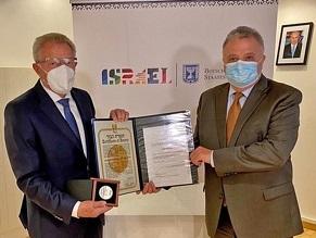 Пастору из Германии присвоено звание Праведника народов мира