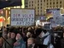 В Германии ультраправые отметили годовщину «Хрустальной ночи» митингом м разгромом еврейской выставки