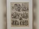 В Польше на аукцион выставили гравюру с изображением еврейской жизни в Украине XIX века