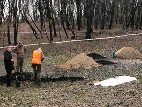 Комментарий Института национальной памяти о раскопках на месте Кирилловского кладбища