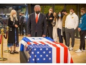 Тело Шелдона Адельсона доставлено в Израиль для захоронения
