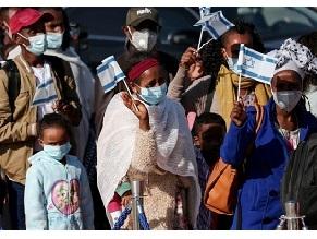 В Израиль прилетела новая группа репатриантов из Эфиопии