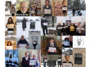 Члены Еврейской общины (литваков) Литвы приняли участие во всемирной акции #WeRemember