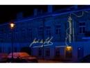 В Вильнюсе увидели световую проекцию к 120-летию великого Яши Хейфеца