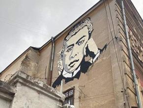 По инициативе Посольства Израиля вОдессе появится мурал Жаботинского