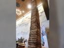 Башня из мацы в Модиине побила мировой рекорд Гиннеса