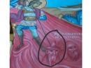 В Калуге проявилась церковная фреска с изображением еврея как «еретика и раскольника»