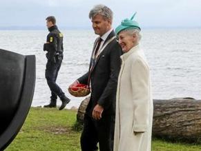 Королева Маргрете II открыла мемориал в честь спасения датских евреев во время Холокоста