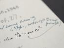Продано письмо Альберта Эйнштейна со знаменитой формулой E = mc2