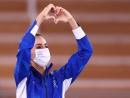 Золотая медаль по художественной гимнастике у Линой Ашрам