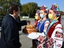 Президент Израиля прибыл с государственным визитом в Украину