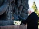 Президент Германии почтил память жертв нацизма в Корюковке
