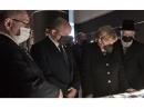 Ангела Меркель возложила венок к мемориалу в Яд ва-Шем