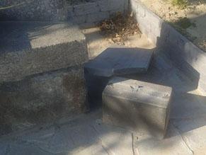 Полицейские устанавливают обстоятельства поврежденияпамятника«Жертвам Холокоста» в Василькове