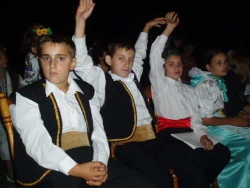 Дети - участники лагеря