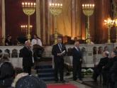 Церемония празднования 100-летия Большой софийской синагоги, Болгария, 9 сентября 2009 г.
